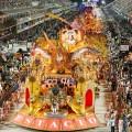 Estácio de Sá eröffnet Sambaparaden der Elitegruppe in Rio de Janeiro