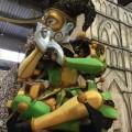 Die Sambaschule São Clemente bringt die Geschichte der Clowns ins Sambódromo von Rio