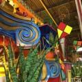 Die Sambaschule União da Ilha bringt das Thema Olympiade in den Sambódromo von Rio de Janeiro
