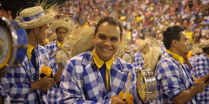 Rio de Janeiro - Unidos da Tijuca é a quinta escola a se apresentar na Marquês de Sapucaí, no desfile das campeãs, com o enredo Semeando sorriso, a Tijuca festeja o solo sagrado (Tomaz Silva/Agência Brasil)