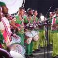 Die Sambaschule Mangueira ehrt mit ihrer Parade die Sängerin Maria Bethânia