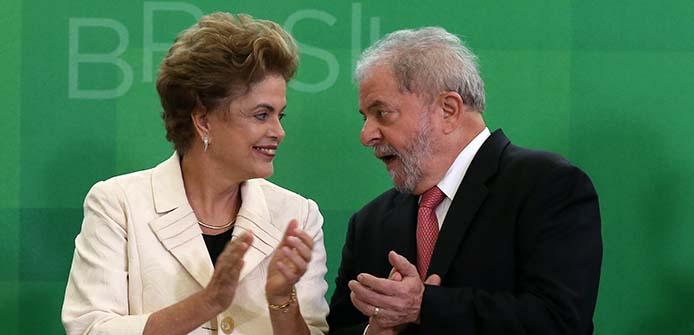 Präsidentin Dilma mit Ex-Präsident Lula - Foto: Lula Marques/Agência PT
