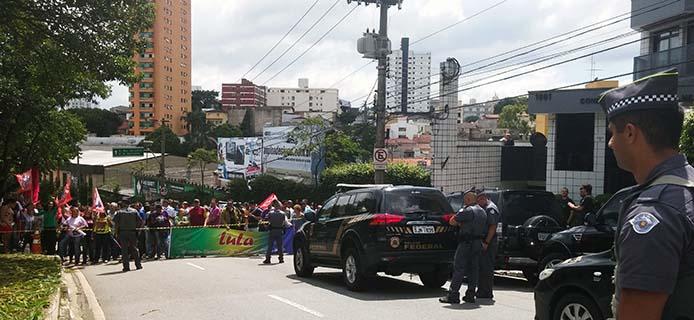Proteste für und gegen Ex-Presidente Luiz Inácio Lula da Silva - Fernanda Cruz/Agência Brasil