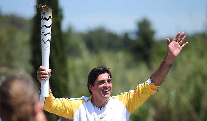 2. facher Olympiasieger Giovane Gávio Foto: Roberto Castro/ME