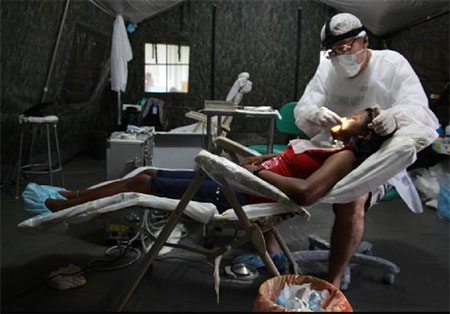 Mobiler Einsatz - Foto: Expedicionários da Saúde