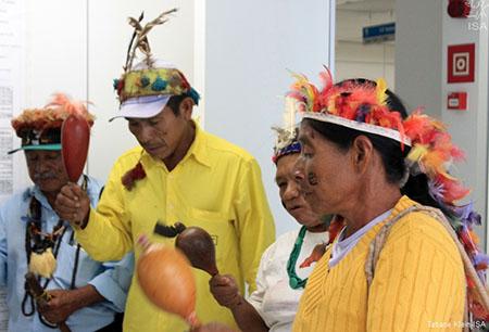 Indios Guarani - Foto: Tatiane Klein Institut Socioambientais ISA