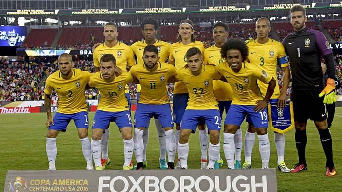 Seleção gegen Peru - Foto: Rafael Ribeiro/CBF