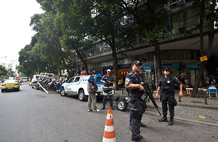Polícia Militar in RJ - Foto: Tânia Rêgo/Agência Brasil