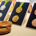 Über 2,5 Tonnen Edelmetall zu Medaillen verarbeitet