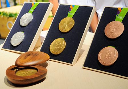 Medaillen Rio 2016 - Foto: Tomaz Silva/Agência Brasil