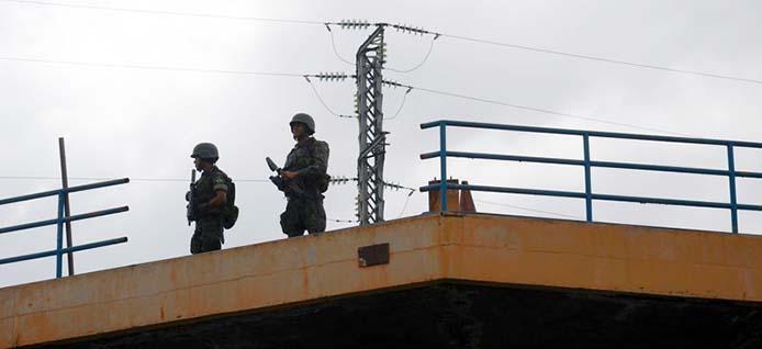 Sicherheitsübung im Estádio do Maracanã - Foto: Fernando Frazão/Agência Brasil