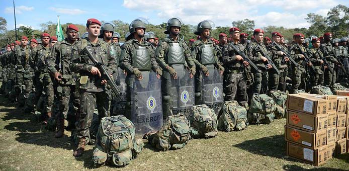 Training der Armee und Polizei für Rio 2016 - Foto: Tomaz Silva/Agência Brasil