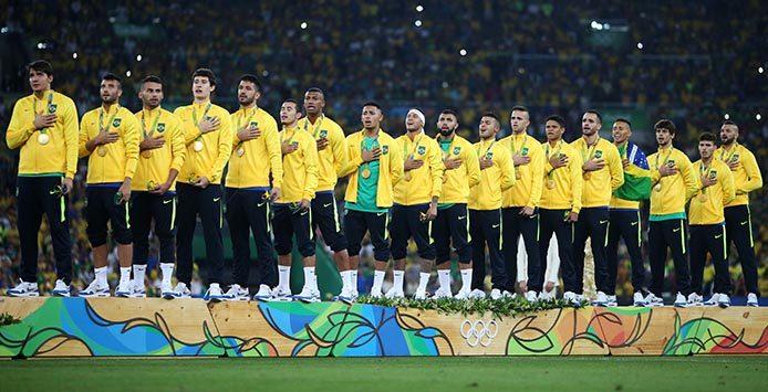 Final Brasilien - Deutschland - Seleção Männer Fussball Männer | Goldmedaille – Foto: Roberto Castro-Brasil2016