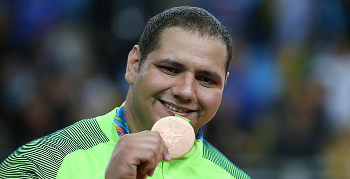 12 de Agosto de 2016 - Rafael Silva | Bronzemedaille Judo - Foto: Roberto Castro/ Brasil2016