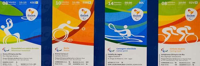 Auswahl offizieller Eintrittskarten - Foto: Tomaz Silva/Agência Brasil