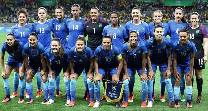 Frauenteam gegen Australien - Foto: Ricardo Stuckert/CBF