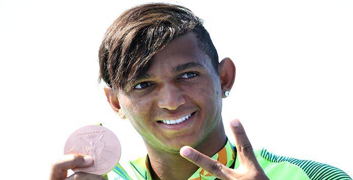 Isaquias Queiroz | Bronzemedaille 200 m Canadier Einer – Foto: Roberto Castro Brasil2016
