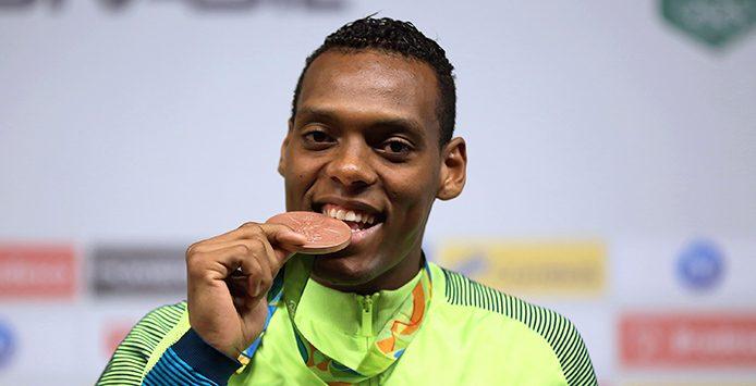 Maicon Siqueira | Bronzemedaille Taekowndo – Foto: Francisco Medeiros/ME