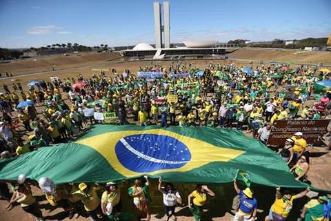 Proteste in Brasila - Foto: José Cruz/Agência Brasil