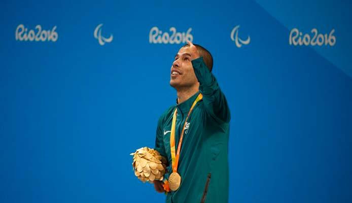 Goldmedaille Daniel Dias 50m Schwimmen - Foto: Fernando Frazão/Agência Brasil