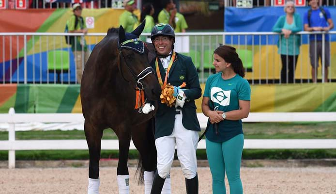 Sergio Oliva | Bronzemedaille Springreiten - Tomaz Silva/Agência Brasil