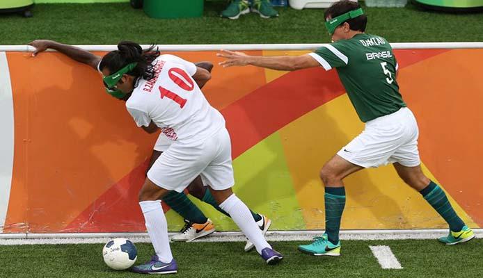 5-er Fussball Goldmedaille für Brasilien - Foto: Tomaz Silva/Agência Brasil