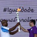 Paralympische Fackel auf Reise durch Brasilien