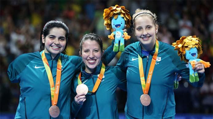 Tischtennis Bronze - Foto: Francisco Medeiros/ME