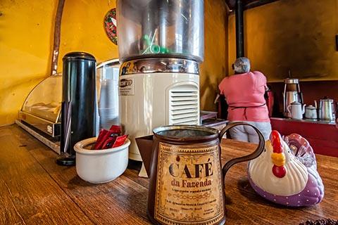 Antike Kaffeeküche - Foto: sabiá brasilinfo