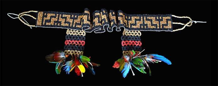 Gürtel der Sateré Mawé - Foto: Museu de Arte Indígena