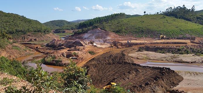 Katastrophe Samarco - Foto: Roberto Franco/UFMG