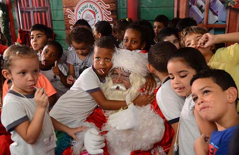 Typischer Papai Noel - Foto: Rovena Rosa/Agência Brasil