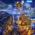 Rio de Janeiro: Portela gewinnt Karnevalsparaden 2017