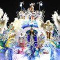 Beija-Flor gewinnt mit Kritik Samba-Paraden Rio de Janeiros