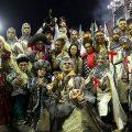 Elite-Sambaschulen São Paulos begeistern Publikum