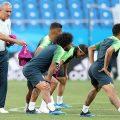 Letzte Vorbereitungen der Seleção vor dem Spiel Brasilien vs. Schweiz