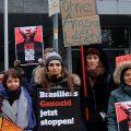 "Indigene Völker in Brasilien führen globale Protestwelle im ""Roten Januar"" an"