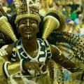 Mangueira gewinnt mit Geschichte der Unterdrückten Samba-Paraden Rio de Janeiros