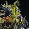 São Paulo: Zweite Nacht der Samba-Paraden glänzt mit imponierenden Allegorien