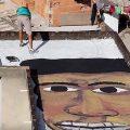 Kunst statt Gewalt: Brasilianer versieht Flachdächer der Favelas mit Gesichtern