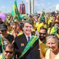 Brasilianer demonstrieren für Bolsonaro
