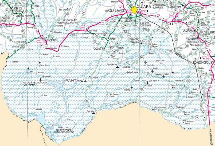 pantanal-nord-karte