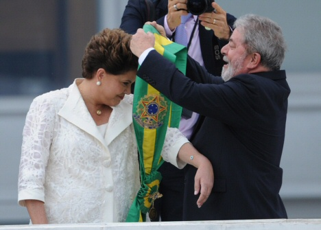Rousseff + Lula