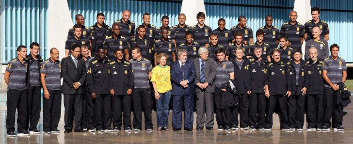selecao delegation wm 2010